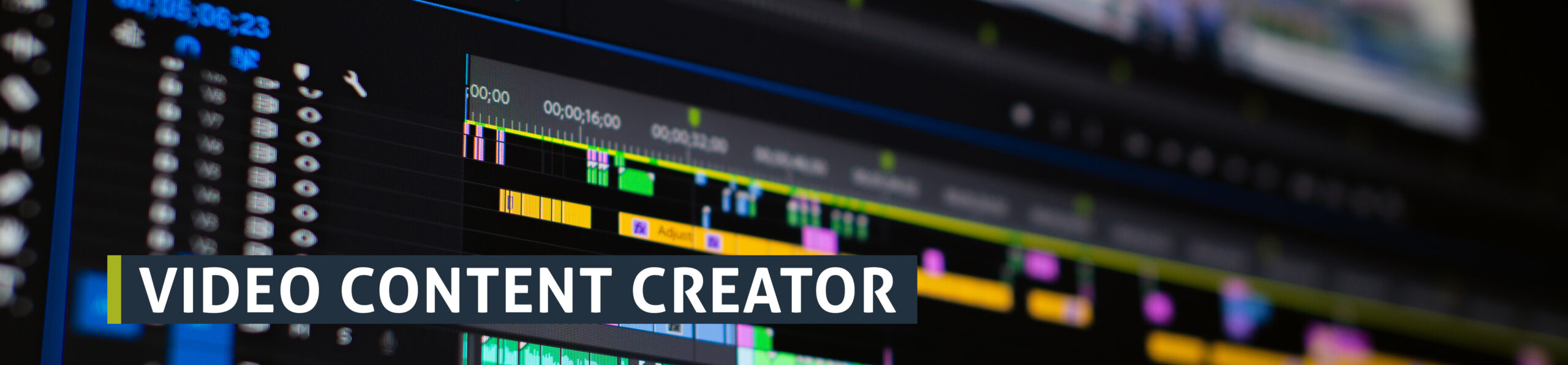 vacature video content creator